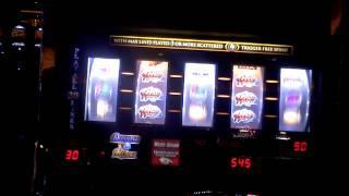 Slot machine bonus win on Diamond Ring at Parx Casino