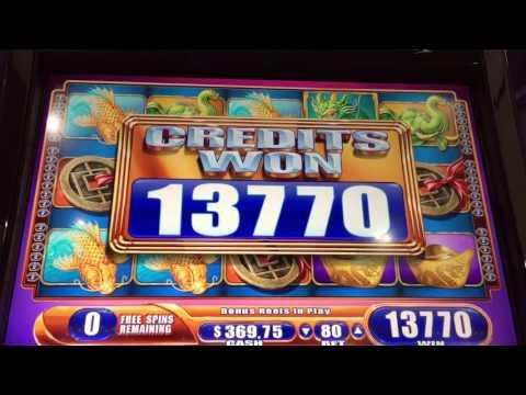 Far East Fortunes 2 Slot Machine *BIG WIN* Free  Spin Bonus