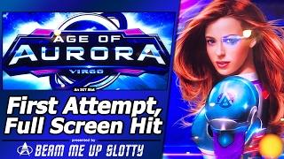 Age of Aurora Slot - First Attempt, Live Play and Full-Screen Hit
