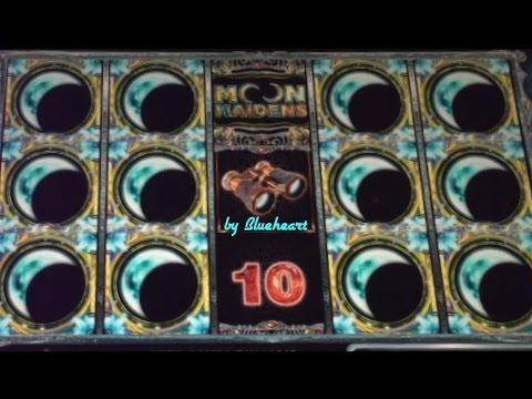 MOON MAIDENS slot machine Bonus Wins! (2 videos)