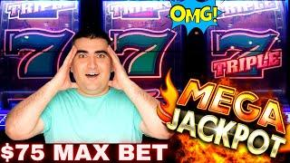 High Limit 3 Reel Slot HUGE HANDPAY JACKPOT | Up To $125 Bets ! NEW MIGHTY CASH Slot Machine 2020