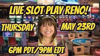 LIVE STREAM SLOT PLAY IN RENO