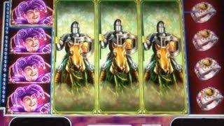 Black Knight II Slot Machine Bonus! Free Spins - BIG WIN! ~ WMS (Black Knight 2)