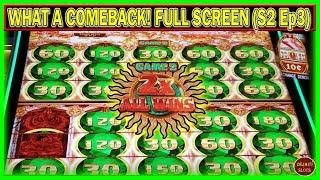 WHAT A COMEBACK! FULL SCREEN 2X $1800 FREE PLAY INTO PROFIT   MIGHTY CASH DOUBLE UP   ( S2 – Ep3 )