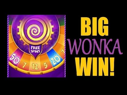 Awesome Bonus Willy Wonka Big Win W Retriggers
