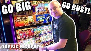 Wonder 4 Boost Go BIG or Go BUST! •️Rhino Charge BONUS! | The Big Jackpot