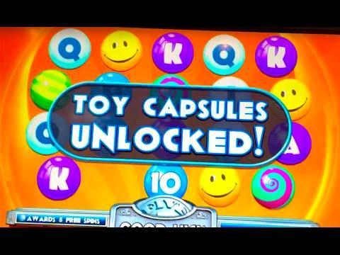 "LIVE PLAY & BONUS WIN!! ""BIG PRIZE BUBBLEGUM"" Slot Machine"