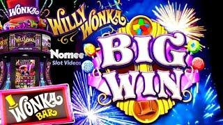 •NEW GAME• Willy Wonka Dream Factory Slot Machine - Over 30 Minutes of WINNING!!