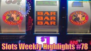 Slots Weekly Highlights #78 For you who are busy•San Manuel Casino, Pechanga ResortCasino,Barona