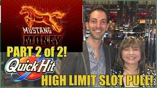 HIGH LIMIT SLOT MACHINES- VEGAS FANATICS GROUP PULL!
