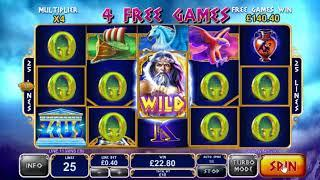 Age of the Gods King of Olympus slots - 709 win!
