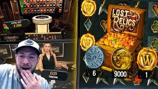 SLOTS, BLACKJACK & ROULETTE! Online Casino Gambling Session