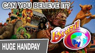 ⋆ Slots ⋆ CAN YOU BELIEVE IT?! ⋆ Slots ⋆ SERIOUS Jackpot Handpay Playing BRAZIL High-Limit Slots