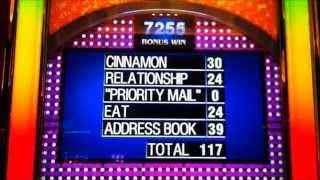 FAMILY FEUD SURVEY SAYS & SPIN WIN BONUS! CAESARS PALACE LAS VEGAS!