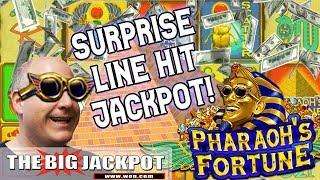 •SURPRISE! •Pharoah's Fortune Line Hit Handpay | The Big Jackpot