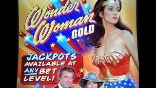 Bally - Wonder Woman Gold : Bonus & Line Hit on a $0.50 bet Eps : 2