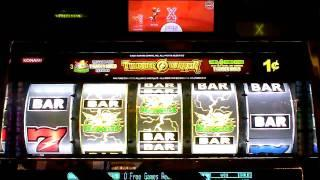 Thunder Warrior Bonus Slot Win at Parx Casino