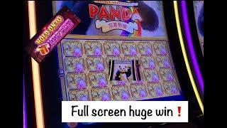 Hold onto your Hat •, It's a Huge Full Screen Win on Panda Double Happiness•️