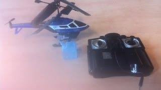Review RC Helicopter SPRAYING WATER! - Silverlit Heli Splash