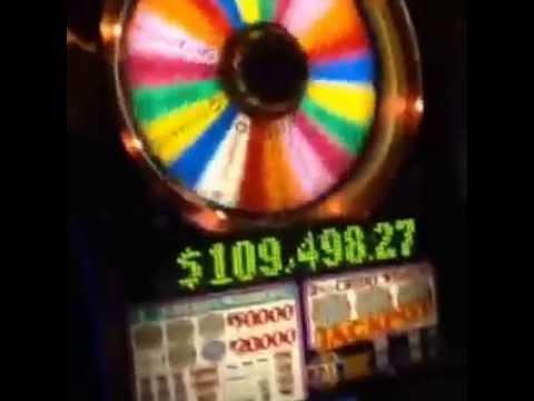 Wheel of Fortune $25 ALMOST HANDPAY high limit slot machine bonus big win