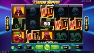 Jungle Spirit, Twin Spin and Rhino slot session  Features