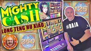 •FULL SCREEN BONU$! •TWO Mighty Cash Feature Win! •| The Big Jackpot
