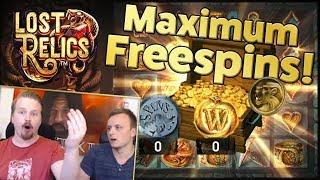 Lost Relics - Good win with maximum freespins!