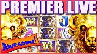 • AWESOME RUN • BUFFALO GOLD! BETTER THAN JACKPOT LIVE PLAY! | Slot Traveler