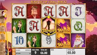 Rapunzel's Tower Online Slot from Quickspin - Free Spins, Tower Feature!