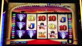 50 Lions Bonus On Aristocrat All Stars On 70 Cent Bet