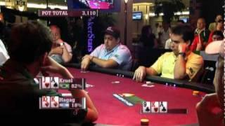 WCP III - Hagan And Kruel Go Head To Head In Early Position Pokerstars.com