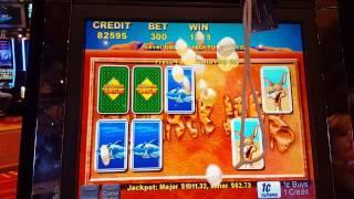 Outback Jack slot machine Major jackpot #3! *Big win*