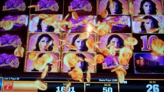 Shadow Princess Slot Machine Bonus - 8 Free Games Win with Random Wilds
