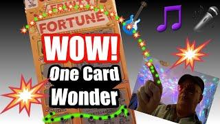 One Card Wonder.....FRUITY FORTUNE...and More...mmmmmmMMM..says •& Luke Shaw.Your request.is here•
