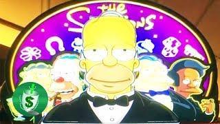 ++NEW The Simpsons slot machine, 2 bonuses