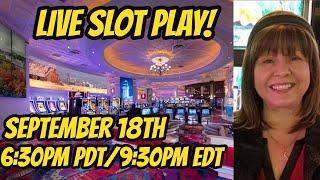 Live casino slot play in Reno 9/18/2019