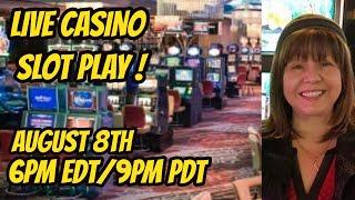 Hot August Nights! Live slot play at the Peppermill casino.