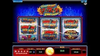 Sizzling 7s $50 bet live play high limit slots at Palazzo and Venetian casino