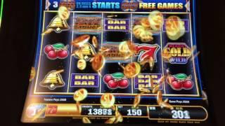 SG/Bally Quick Hit Riches Black Gold Wild - Max Bet Bonus & LIVE PLAY