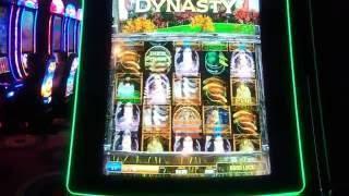 Duck Dynasty live play Max Bet $5.00 BONUS AND BIG WIN Slot Machine