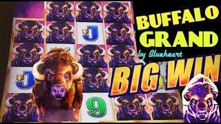 BUFFALO GRAND slot machine Min Bet Bonus & BIG WIN MEGA LINE HIT!