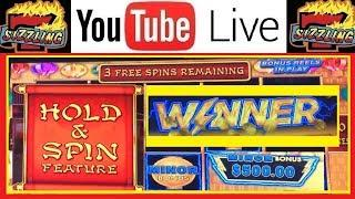 FINALLY I WIN • HAPPY LANTERN Lightning Link High Limit Casino Machine Video Sizzling Slot Jackpots