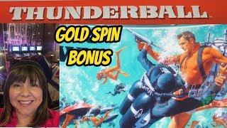 Gold Spins James Bond Thunderball & Diamonds are Forever