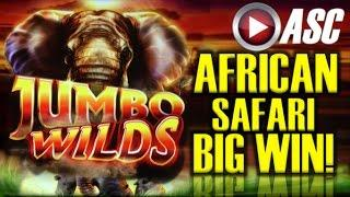 •BIG WIN!!• JUMBO WILDS | RETRIGGERS GALORE!! Slot Machine Bonus (Ainsworth)