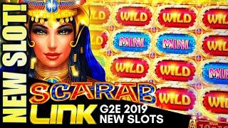 •G2E 2019• NEW IGT SLOTS! (PART 1 OF 2) SCARAB LINK, FORTUNE COIN BOOST, DRAGON LIGHTS Slot Machine
