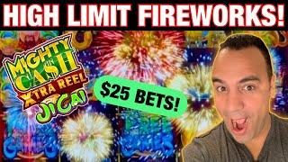 ⋆ Slots ⋆ $25 Bets on High Limit Mighty Cash Xtra Reel!! | Lock It Link Piggy Bankin ⋆ Slots ⋆ ⋆ Slo