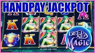 Drop & Lock Deep Sea Magic HANDPAY JACKPOT ⋆ Slots ⋆HIGH LIMIT $25 BONUS ROUND LOCK IT LINK SLOT MAC