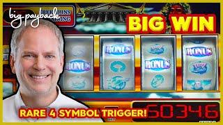 RARE 4 SYMBOL TRIGGER! Zeus 5RM Slot - BIG WIN RETRIGGER!