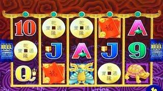 5 Dragons Deluxe Slot Machine - 3 Mystery Choice Tries