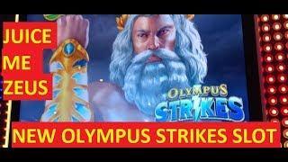 NEW OLYMPUS STRIKES SLOT!!!! BIG WINS & BONUSES!!!